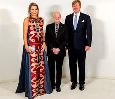 Queen Maxima and King Willem attended the premiere of 'Ode to the Master'