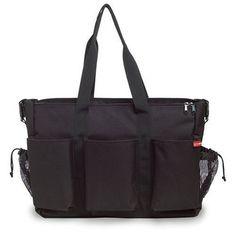 Skip Hop Duo Double Deluxe Diaper Bag, Black by Skip Hop