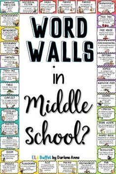 Read about 10 fun and easy ways to use word walls to create a literacy-rich environment and accelerate vocabulary growth. Math Word Walls, Vocabulary Word Walls, Academic Vocabulary, Teaching Vocabulary, Teaching Reading, Teaching Ideas, Vocabulary Instruction, Primary Teaching, Vocabulary Activities