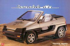 Citroen Scarabee D'Or Concept by Heuliez '1990