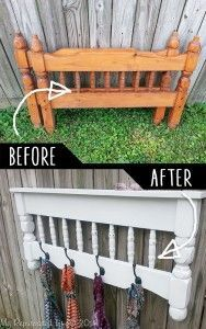15 Smart DIY Ideas To Repurpose Your Old Furniture is part of Diy furniture hacks - Welcome to a new collection of DIY projects in which we're going to show you 15 Smart DIY Ideas To Repurpose Your Old Furniture Enjoy! Diy Furniture Hacks, Furniture Projects, Wood Projects, Home Furniture, Furniture Online, Bedroom Furniture, Pallet Furniture, Furniture Logo, Furniture Refinishing