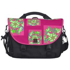 Tropica Pink Laptop Bag