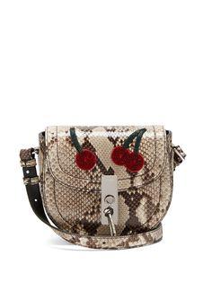 Click here to buy Altuzarra Ghianda mini python cross-body bag at MATCHESFASHION.COM