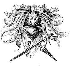 Helm shield sword