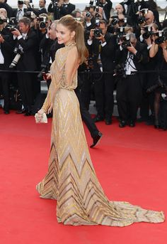 Barbara Palvin in Valentino Haute Couture at 2012 Cannes