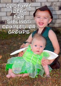 Adventures Of A New MilWife: Costume Ideas for Siblings, Couples or Groups