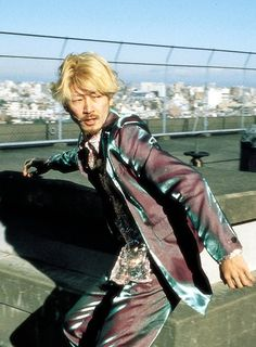 Ichi the killer film - I was paying more attention to the suit material than the fighting xD