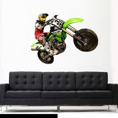 11 best Motocross wall decals dirt bike wall decals images on