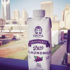 This is how @nelisabel on Instagram quenches her thirst this summer: chocolate almondmilk. Winner of our #ThirstyCalifian photo challenge!