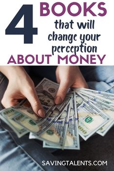 here are 4 books that will make you see things differently. These 4 books are part of a list of 49 recommended books for entrepreneurs. Let's get started! Ways To Save Money, Money Tips, Money Saving Tips, Make Money Online, How To Make Money, Frugal Living Tips, Frugal Tips, Financial Tips, Financial Literacy