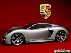 Porsche concept car