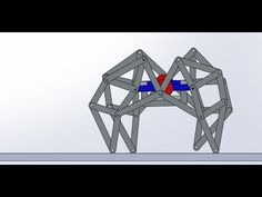 Quadruped Walking Robot - Motion Study (Based on Theo Jansen Mechanism)