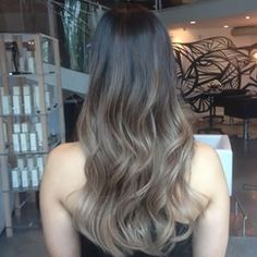 ashy brown hair balayage ombre - Google Search