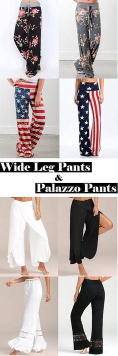 Women Pants,Wide Leg Pants,Palazzo Pants