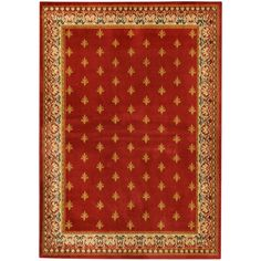 This gorgeous, exotic rug is easy to vacuum, stain resistant and is extremely durable. The Ephesus Collection features an anti-static low pile and they naturally resist stains, fading, soil and bacteria. British Colonial Decor, Ephesus, Red Rugs, Contemporary Rugs, Red Background, Black Pattern, Online Home Decor Stores, 9 And 10, Fancy