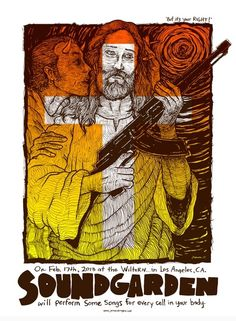 Soundgarden Poster by Jermaine Rogers