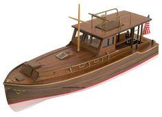 El Pilar - Model Boat Kit El Pilar, Ernest Hemingway's Boat by Constructo Ship Models