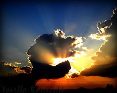 Sunrise Sunset Photography CloudsGifts under by VanillaExtinction, $20.00