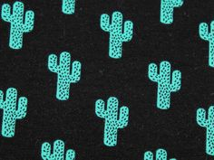 Cactus Print Stretch Jersey Knit Sweatshirt Dress Fabric | Fabric | Dress Fabrics | Minerva Crafts
