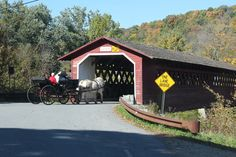 BENNINGTON -- With the foliage showing its full kaleidoscopic splendor, mid-October is the perfect time to set off on a hunt to find Bennington County's five covered bridges.