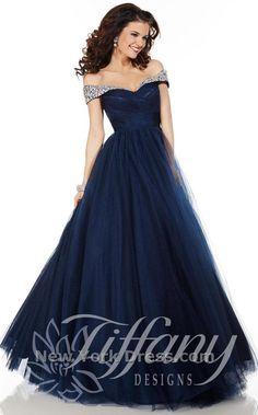 Tiffany 61123 Dress - NewYorkDress.com