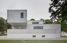 The newly renovated Gropius #House. Image courtesy of the Bauhaus Dessau Foundation. Image © Christoph Rokitta