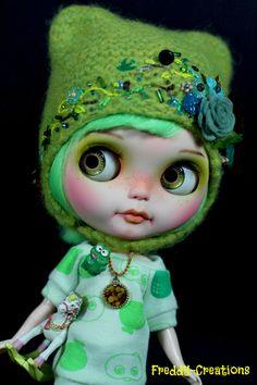 OOAK Custom Blythe Doll Baby Amaryllis by Freddy Tan Singapore Art Doll | eBay