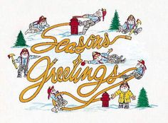 Season's Greetings Firefighter Christmas Cards