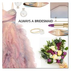 """""""Always a Bridesmaid"""" by danielle-487 ❤ liked on Polyvore featuring Marchesa, M2Malletier, Prada, Dolce&Gabbana, Jemma Wynne, Sophie Bille Brahe and alwaysabridesmaid"""