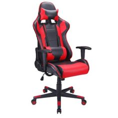Best Gaming Chair - 2019 Are you among the gaming enthusiasts who spend a countless number of hours gaming? If you don't have the correct chair you ne. Chaise Gaming, Gaming Chair, Ergonomic Computer Chair, Ergonomic Chair, Leopard Chair, Executive Office Chairs, Good And Cheap, Cool Chairs, Swivel Chair