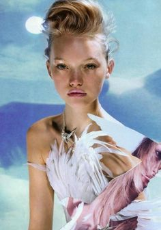Gemma Ward by Night Knight.