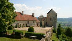 Château de Belvoir et vallon de Sancey