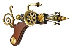 very elegant: Steampunk Ray Gun No. 4981