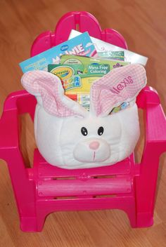 Everything but the Candy - Easter Baskets for Little Girls Mama Say What?!