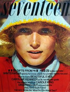 1970's seventeen magazine covers | NEW Seventeen Magazine Covers 1970s