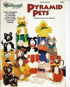 Plastic Canvas Pattern Pyramid Pets The Needlecraft Shop 953325