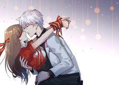 Mystic Messenger- Mc x Choi Saeran (Unknown) #Otome #Game #Anime. Susanghan Messenger
