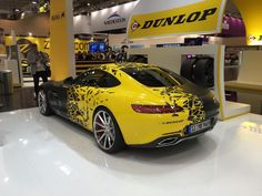 JP Performance Mercedes-AMG GT — applique in two colors - matte black and gloss yellow