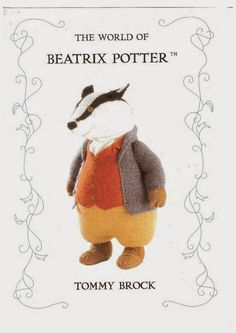 Beatrix Potter Knitting Patterns : Three Patterns by Alan Dart to Make Two Beatrix Potter Tailor of Gloucester M...