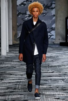 Neil Barrett menswear spring/summer 2016