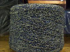 2/12 Navy White Acrylic Solara, 2/12 Novelty Acrylic Yarn, Machine Knitting Yarn, Weaving Yarn, Crochet Yarn, Cone Yarn, by stephaniesyarn on Etsy