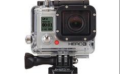 Go Pro kamera, så jeg kan optage en masse fede film, når jeg er ude på eventyr.