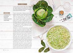 """ABC dei #crauti #ricetta dal libro """"Orto e cucina. Coltivare naturale, cucinare vegetale"""", Moka Libri, 2016"""