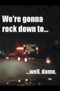 LMAO! Electric Avenue