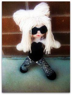 #lady gaga #amigurumi doll