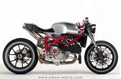 Ducati 1098 Cafe Racer . A slice of heaven!