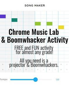Link to blog post about a super fun FREE activity to do with students. All you need is a projector and boomwhackers! Music Education Activities, Physical Education, Teaching Resources, Middle School Music, Elementary Music, Music Therapy, Music Classroom, Teaching Music, Music Lessons
