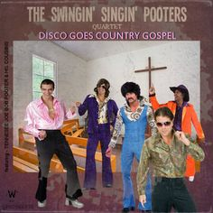 Disco goes country Gospel - A bad idea! Worst Album Covers, Cool Album Covers, Box Covers, Lp Cover, Vinyl Cover, Cover Art, Music Pics, Music Albums, Lps