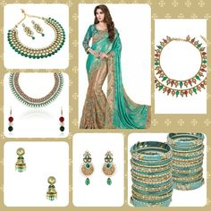 Upload your dress for matching color shade jewellery visit www.shibong.com