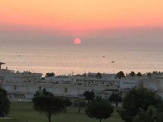 Otro amanecer desde la ventana de tu apartamento Mojaquera. www.costadealmeria.lookandfind.es